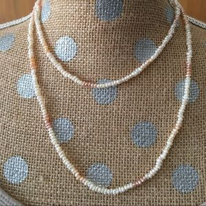 Jewelry - 🌹3/$25🌹Freshwater Pearl Multi Color Necklace.